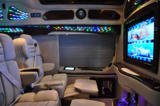 One Thing Buyers Always Seem To Enjoy About Their Conversion Vans Is The High Tech Upscale Electronics Available Between 26 Inch Flat Screen HD LED