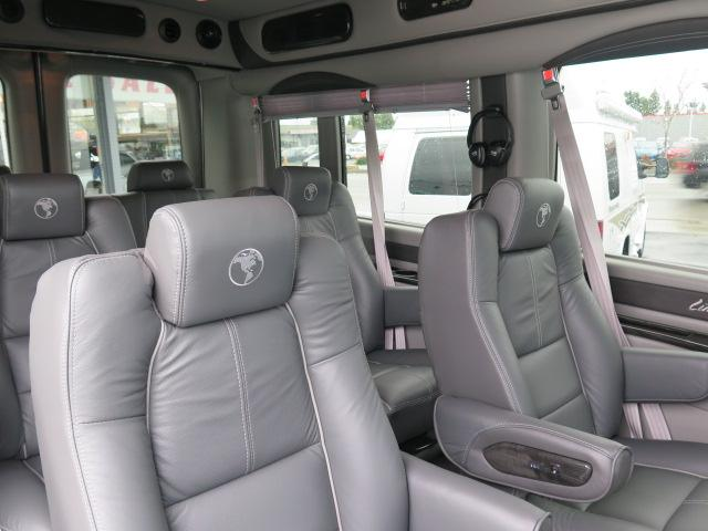 One Of The Signature Marks A High End Conversion Van Is Plush Interior Seats Youve Seen Them Big Soft Leather Chairs And Sofa You Can
