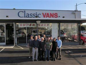 Classic Vans dealership employees
