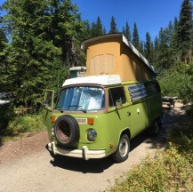 Bruce Martin's van